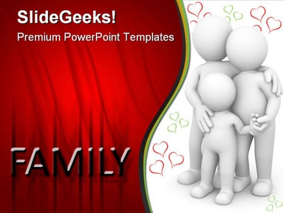 Happy Family01 People PowerPoint Themes And PowerPoint Slides 0411