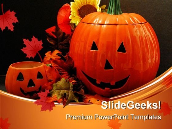 Happy Halloween01 Festival PowerPoint Templates And PowerPoint Backgrounds 0511