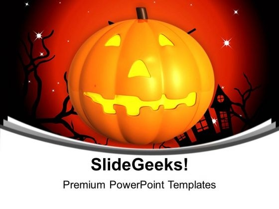 Happy Halloween Events Celebration PowerPoint Templates Ppt Backgrounds For Slides 1212