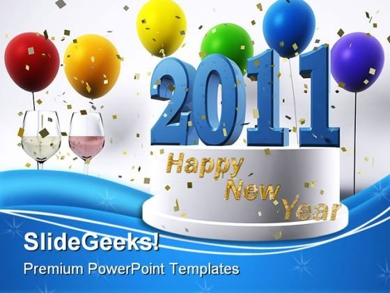 Happy New Year Events PowerPoint Templates And PowerPoint Backgrounds 0311
