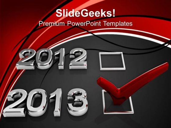 Happy New Year Events PowerPoint Templates Ppt Backgrounds For Slides 1112