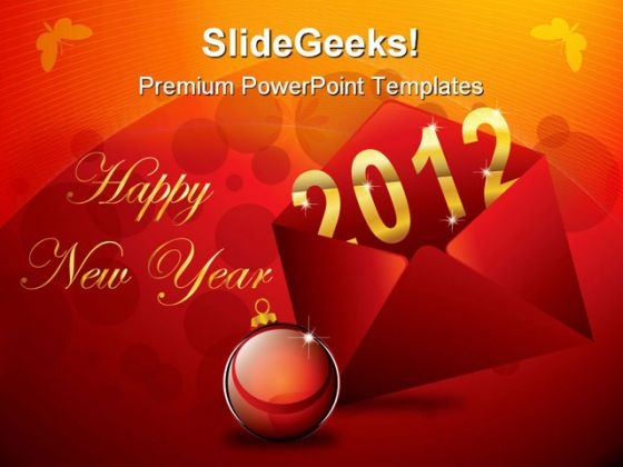 Happy New Year Holidays PowerPoint Templates And PowerPoint Backgrounds 1211