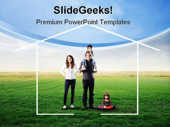Happy People Family PowerPoint Templates And PowerPoint Backgrounds 0811