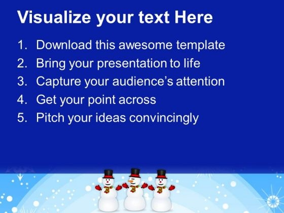 happy_snowman_friends_holidays_powerpoint_templates_ppt_background_for_slides_1112_text