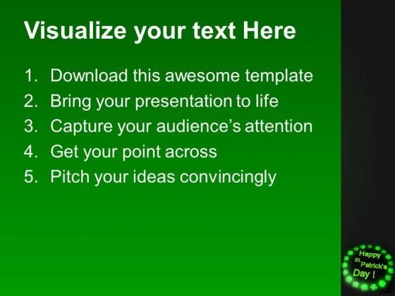 happy st patricks day powerpoint templates ppt backgrounds for, Powerpoint templates