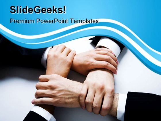 Harmony Handshake Business PowerPoint Templates And PowerPoint Backgrounds 0811