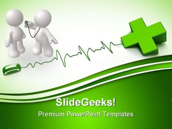 Health Online Medical PowerPoint Themes And PowerPoint Slides 0511