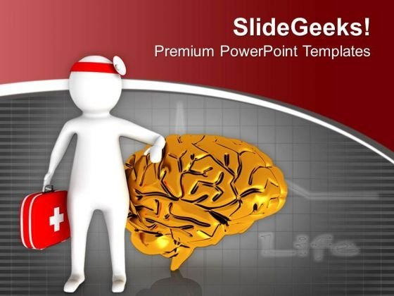 healthy_brain_requires_right_medication_powerpoint_templates_ppt_backgrounds_for_slides_0713_title