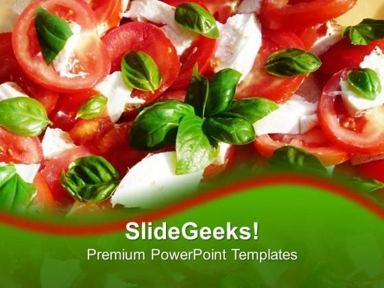Healthy Diets Salads Food PowerPoint Templates Ppt Backgrounds For Slides 0213