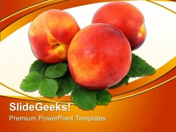 Healthy Fruits Food PowerPoint Templates And PowerPoint Themes 0512