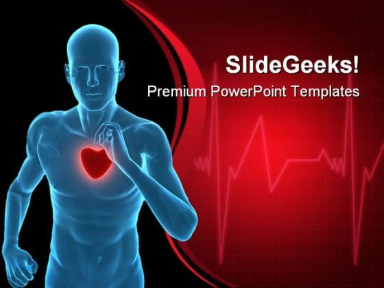 Healthy Heart Concept Medical PowerPoint Templates And PowerPoint Backgrounds 0711