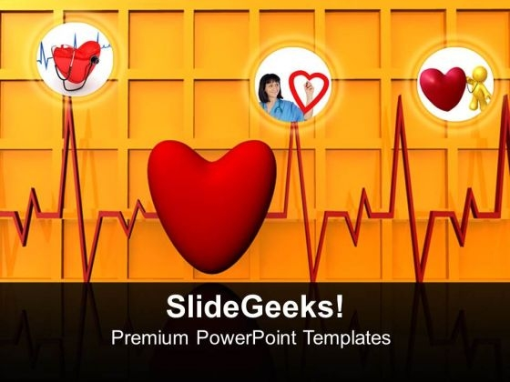 Healthy Heart Medical PowerPoint Templates And PowerPoint Themes 0612