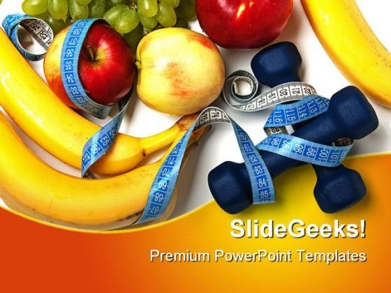 Healthy Lifestyle Health PowerPoint Themes And PowerPoint Slides 0411