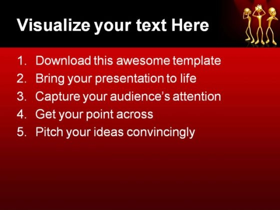 hear_see_speak_no_people_powerpoint_template_1110_text