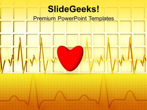 Heart Beat Medical PowerPoint Templates And PowerPoint Themes 1112