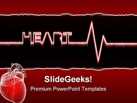 Heart Medical PowerPoint Templates And PowerPoint Backgrounds 0311