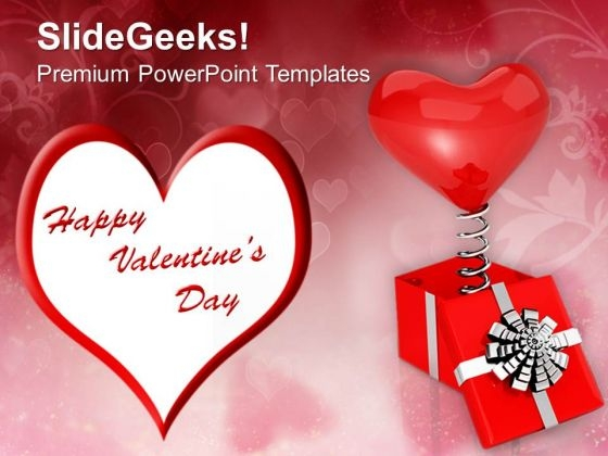 Heart Wishing Valentines Day PowerPoint Templates Ppt Backgrounds For Slides 0213