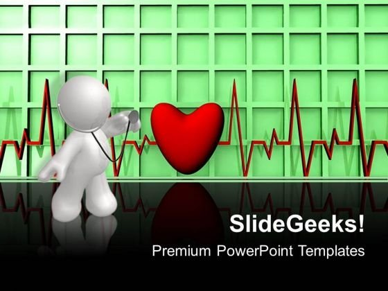 Heartbeat01 Medical PowerPoint Templates And PowerPoint Themes 0512