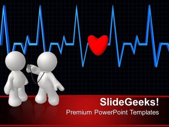 Heartbeat Health PowerPoint Templates And PowerPoint Themes 0512