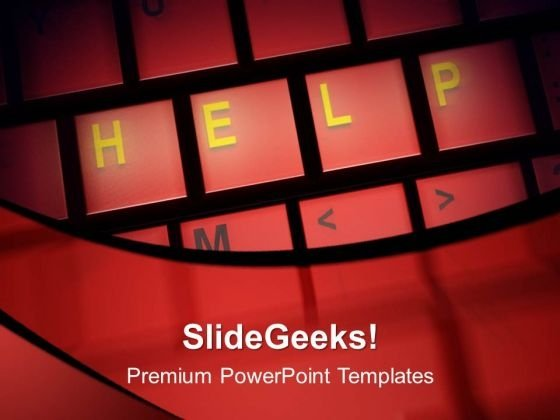 Help PowerPoint Templates And PowerPoint Themes 1012