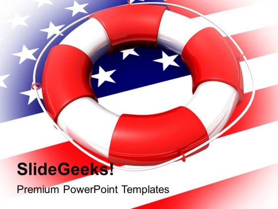 Helping Usa Americana PowerPoint Templates And PowerPoint Themes 1112