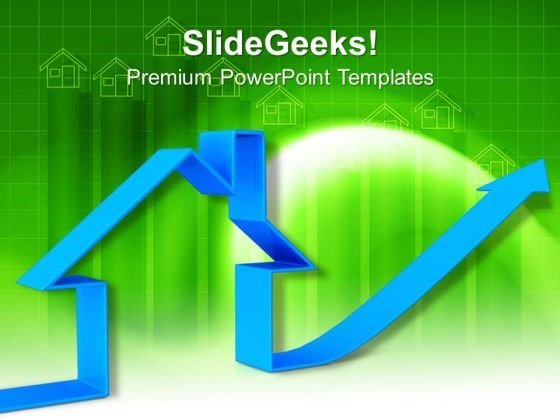 High Real Estate Prices Concept PowerPoint Templates And PowerPoint Themes 1012