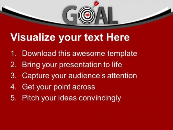 hit_the_goal_for_success_powerpoint_templates_ppt_backgrounds_for_slides_0613_text