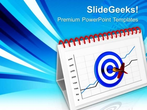 Hit The Target For Successful Business PowerPoint Templates Ppt Backgrounds For Slides 0613
