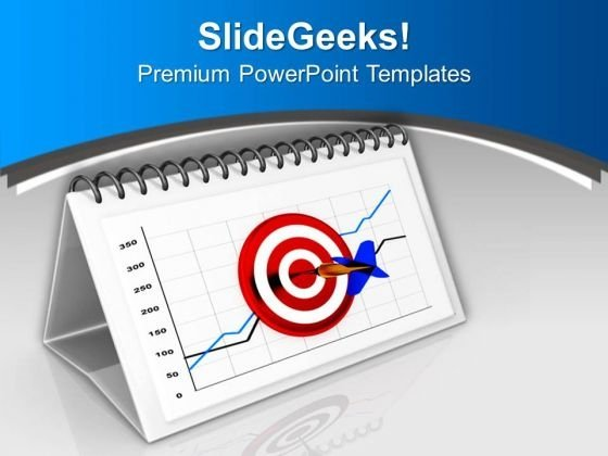 Hitting Monthly Business Target Is Important PowerPoint Templates Ppt Backgrounds For Slides 0713