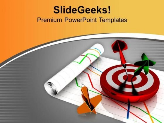 Hitting Target Is Important In Business PowerPoint Templates Ppt Backgrounds For Slides 0713