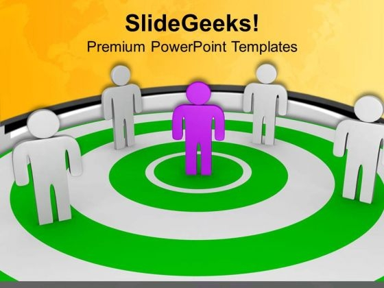 Hold Position Of Leadership With Team PowerPoint Templates Ppt Backgrounds For Slides 0713