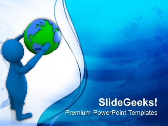 Hold The Global Opportunities PowerPoint Templates Ppt Backgrounds For Slides 0613