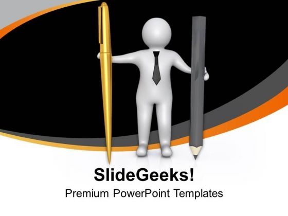 Hold The Right Way Of Writing PowerPoint Templates Ppt Backgrounds For Slides 0713