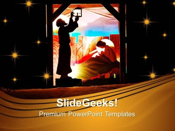 Holy Family Christian PowerPoint Templates And PowerPoint Themes 0812