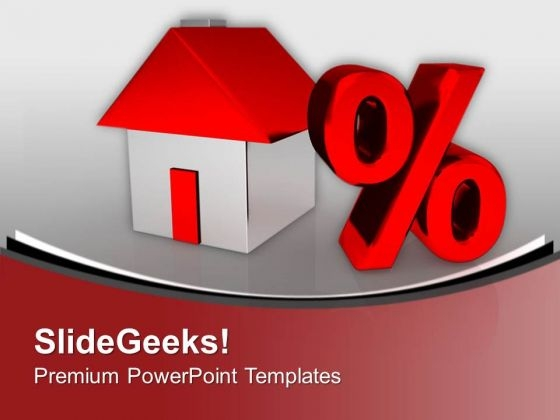 Home Discount Real Estate PowerPoint Templates Ppt Backgrounds For Slides 0313