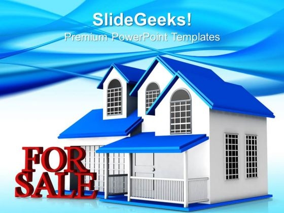 Home For Sale PowerPoint Templates And PowerPoint Themes 0812