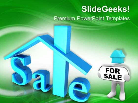 Home For Sale Real Estate PowerPoint Templates Ppt Backgrounds For Slides 0413