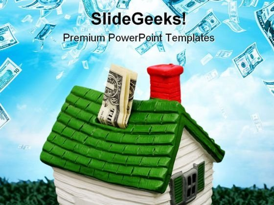 Home Investment Money PowerPoint Themes And PowerPoint Slides 0711
