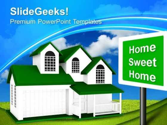 Home Real Estate Concept PowerPoint Templates And PowerPoint Themes 0812