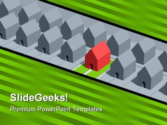 Home Real Estate PowerPoint Themes And PowerPoint Slides 0811