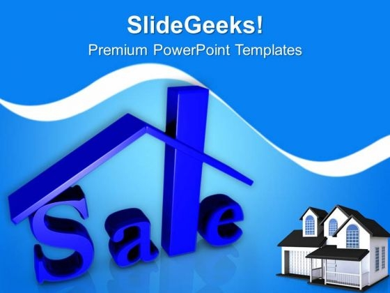 Homes For Sale Real Estate PowerPoint Templates Ppt Backgrounds For Slides 0413
