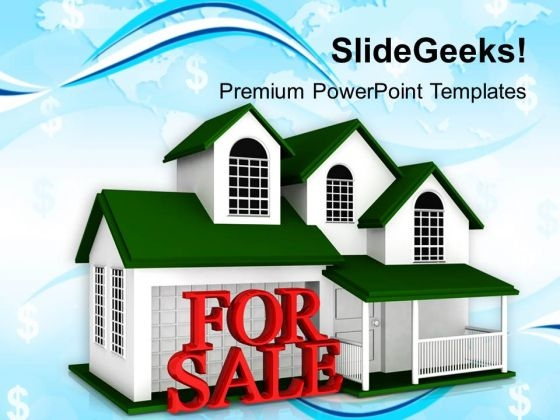 House For Sale Business PowerPoint Templates Ppt Backgrounds For Slides 1212