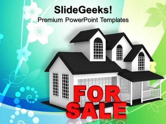 House For Sale PowerPoint Templates And PowerPoint Themes 0912
