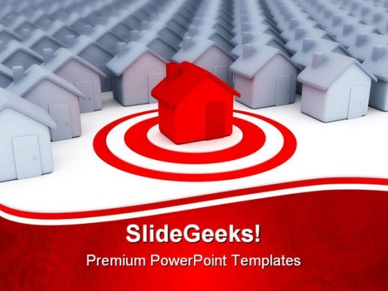 Houses Business Real Estate PowerPoint Templates And PowerPoint Backgrounds 0811