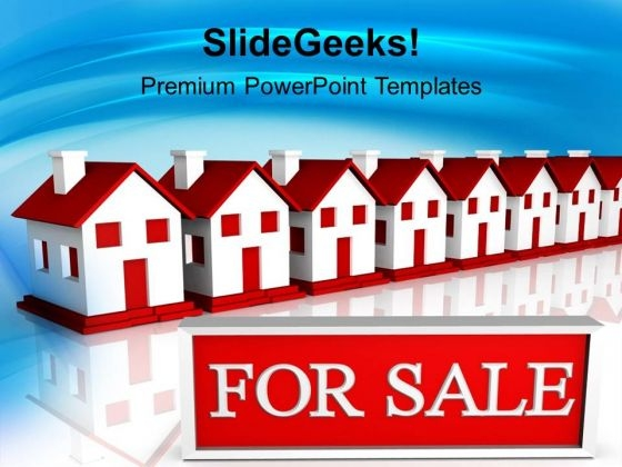 Houses For Sale Real Estate PowerPoint Templates Ppt Background For Slides 1112