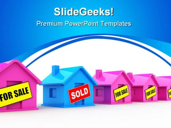 Houses For Sale Real Estate PowerPoint Themes And PowerPoint Slides 0511