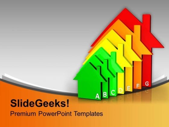 Housing Energy Efficiency Environment PowerPoint Templates And PowerPoint Themes 1012