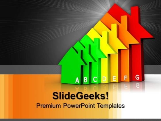 Housing Energy Efficiency Technology PowerPoint Templates And PowerPoint Themes 1012