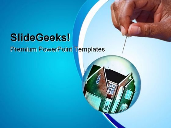 Housing Market Real Estate PowerPoint Templates And PowerPoint Backgrounds 0711