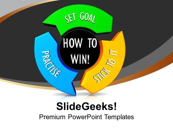 How To Win Business Concept PowerPoint Templates Ppt Backgrounds For Slides 0113